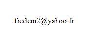 Adresse Yahoo