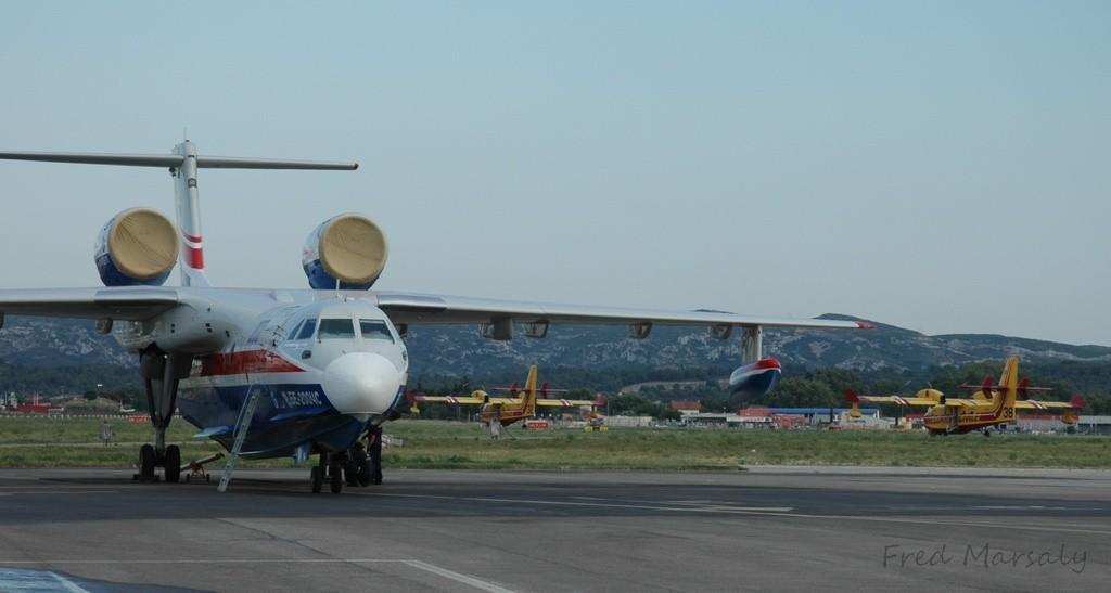 Beriev 200 Marseille Canadair