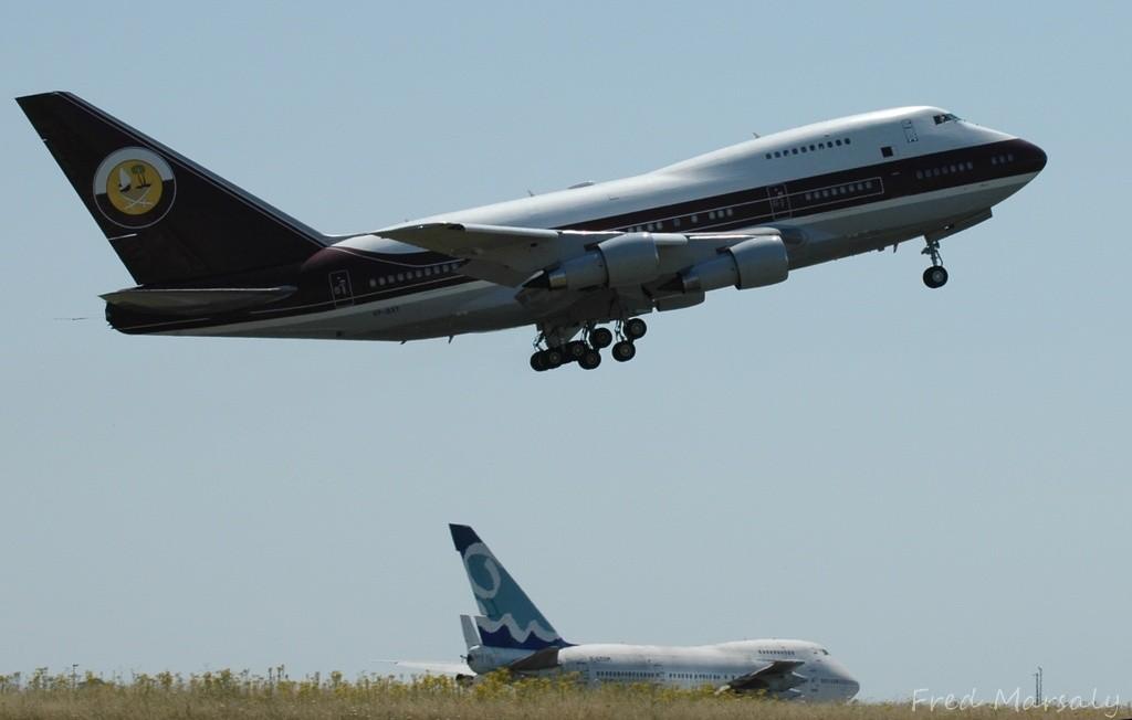 747SP Corsair 747SP Qatar (CTX juillet 2009)