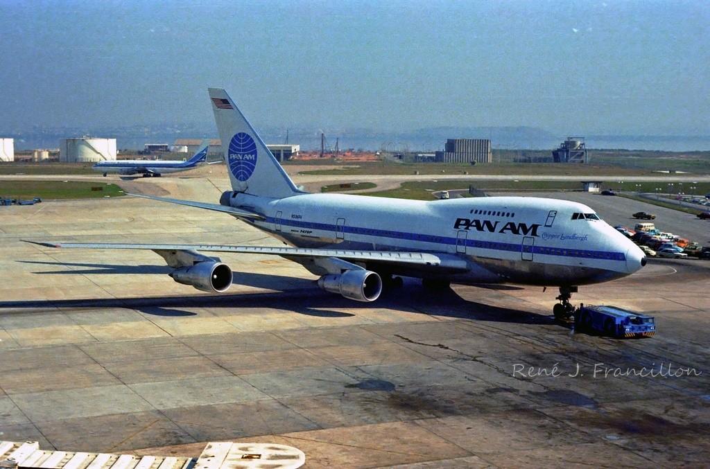 Boeing 747SP-21, Pan Am, N536PA, Rio, Aug 80 1024 (RJF)