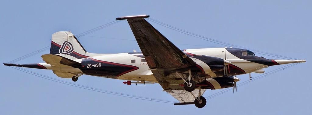 Spectrem Basler BT-67 Johannesburg 20Feb013 cn33581-16833 Wesley Moolman 2