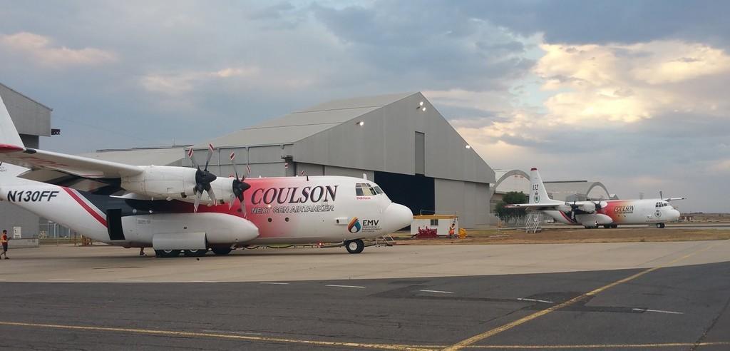 C130 Coulson en Australie