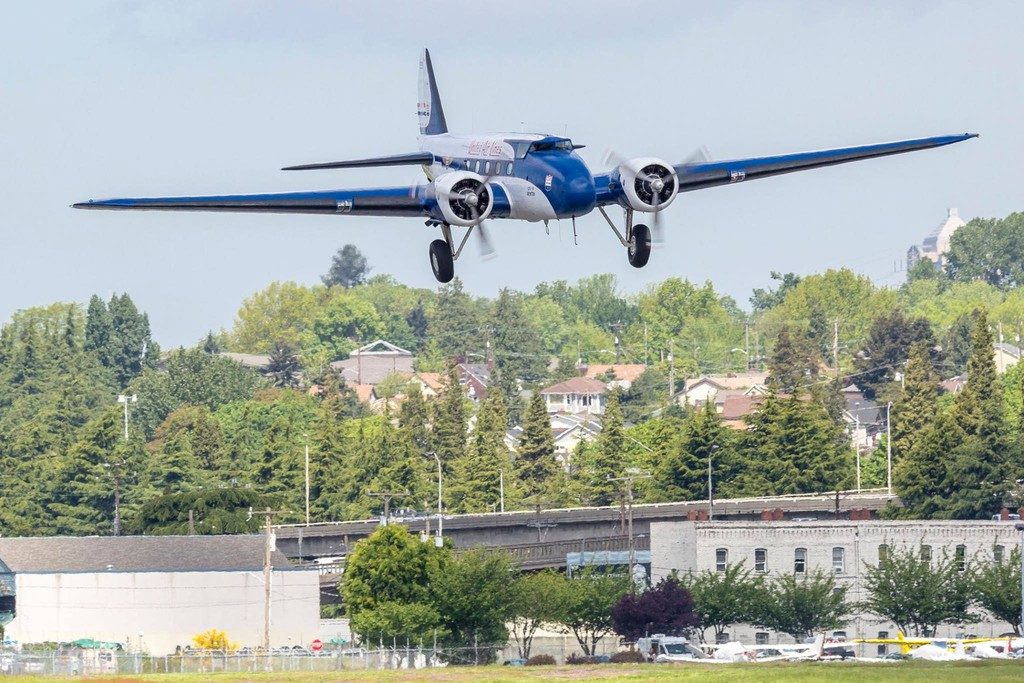 Boeing 247 (Francis Zera via Museum of flight) 1024