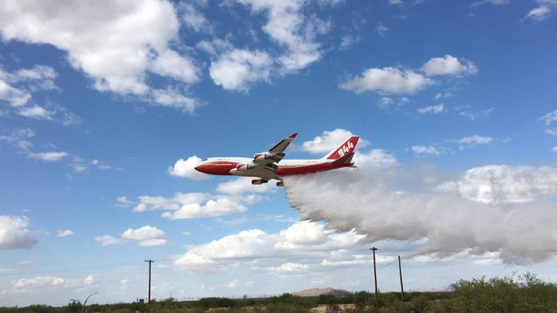 Tanker 944 first drop (GSS LLC)