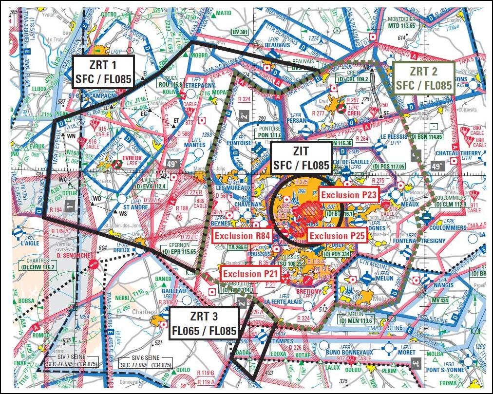 Carte Aeronautique Region Parisienne.Le Defile Aerien Du 14 Juillet 2016 09 27 Fr